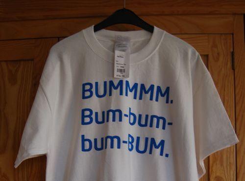 Bum, bum, bum, bum, bum, bum, bum bum, bum