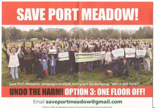 Port Meadow campaign